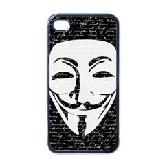 Antonymous   Apple Iphone 4 Case (black) by Valentinaart