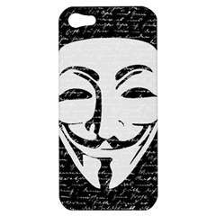 Antonymous   Apple Iphone 5 Hardshell Case by Valentinaart