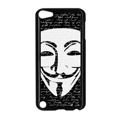 Antonymous   Apple Ipod Touch 5 Case (black) by Valentinaart