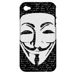Antonymous   Apple Iphone 4/4s Hardshell Case (pc+silicone) by Valentinaart