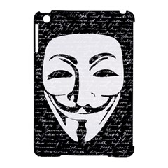 Antonymous   Apple Ipad Mini Hardshell Case (compatible With Smart Cover) by Valentinaart