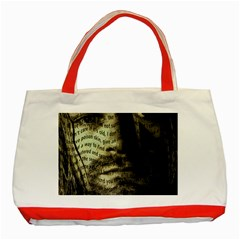Kurt Cobain Classic Tote Bag (red) by Valentinaart
