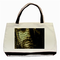 Kurt Cobain Basic Tote Bag (two Sides) by Valentinaart