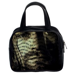 Kurt Cobain Classic Handbags (2 Sides) by Valentinaart