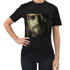 Kurt Cobain Women s T Shirt (black) by Valentinaart