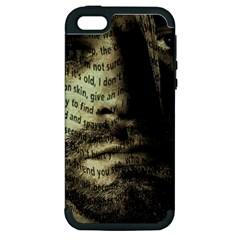 Kurt Cobain Apple Iphone 5 Hardshell Case (pc+silicone) by Valentinaart
