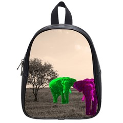 Africa  School Bags (small)  by Valentinaart