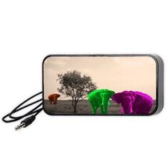 Africa  Portable Speaker (black) by Valentinaart