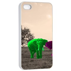 Africa  Apple Iphone 4/4s Seamless Case (white) by Valentinaart