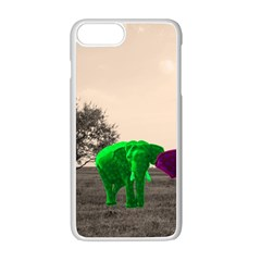 Africa  Apple Iphone 7 Plus White Seamless Case by Valentinaart
