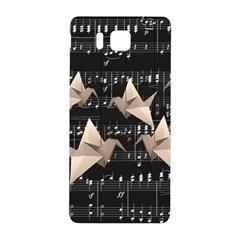 Paper Cranes Samsung Galaxy Alpha Hardshell Back Case by Valentinaart