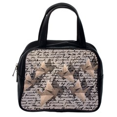 Paper Cranes Classic Handbags (one Side) by Valentinaart