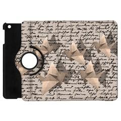 Paper Cranes Apple Ipad Mini Flip 360 Case by Valentinaart