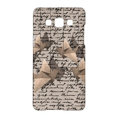 Paper Cranes Samsung Galaxy A5 Hardshell Case  by Valentinaart