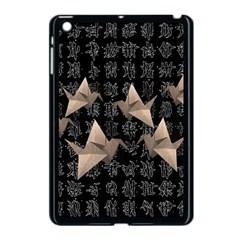 Paper Cranes Apple Ipad Mini Case (black) by Valentinaart