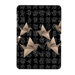Paper Cranes Samsung Galaxy Tab 2 (10 1 ) P5100 Hardshell Case  by Valentinaart