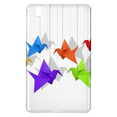 Paper Cranes Samsung Galaxy Tab Pro 8 4 Hardshell Case by Valentinaart