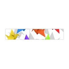 Paper Cranes Flano Scarf (mini) by Valentinaart