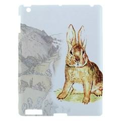Rabbit  Apple Ipad 3/4 Hardshell Case by Valentinaart
