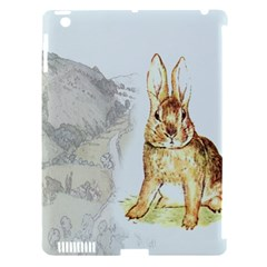 Rabbit  Apple Ipad 3/4 Hardshell Case (compatible With Smart Cover) by Valentinaart