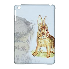 Rabbit  Apple Ipad Mini Hardshell Case (compatible With Smart Cover) by Valentinaart