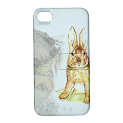Rabbit  Apple Iphone 4/4s Hardshell Case With Stand by Valentinaart
