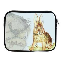Rabbit  Apple Ipad 2/3/4 Zipper Cases by Valentinaart