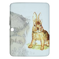 Rabbit  Samsung Galaxy Tab 3 (10 1 ) P5200 Hardshell Case  by Valentinaart