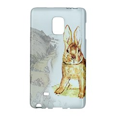 Rabbit  Galaxy Note Edge by Valentinaart