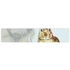 Rabbit  Flano Scarf (small) by Valentinaart