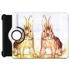 Rabbits  Kindle Fire Hd 7  by Valentinaart