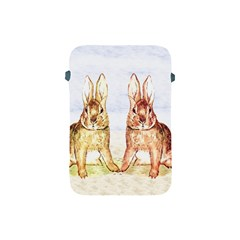 Rabbits  Apple Ipad Mini Protective Soft Cases by Valentinaart