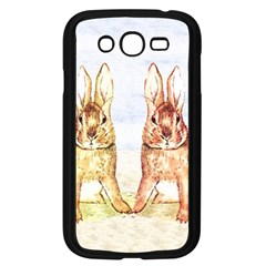 Rabbits  Samsung Galaxy Grand Duos I9082 Case (black) by Valentinaart