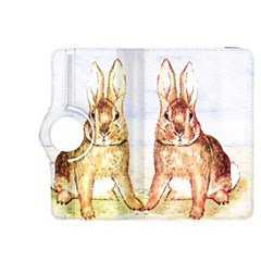 Rabbits  Kindle Fire Hdx 8 9  Flip 360 Case by Valentinaart