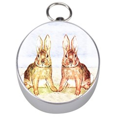 Rabbits  Silver Compasses by Valentinaart