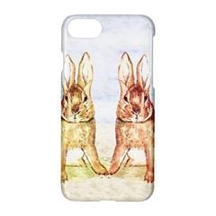 Rabbits  Apple Iphone 7 Hardshell Case by Valentinaart