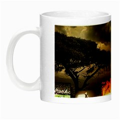 Africa Night Luminous Mugs by Valentinaart