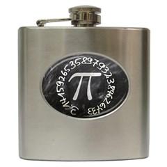 Pi Hip Flask (6 Oz) by Valentinaart