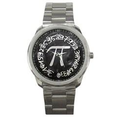 Pi Sport Metal Watch by Valentinaart