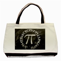 Pi Basic Tote Bag by Valentinaart