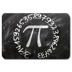Pi Large Doormat  by Valentinaart