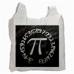 Pi Recycle Bag (one Side) by Valentinaart
