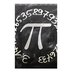 Pi Shower Curtain 48  X 72  (small)  by Valentinaart
