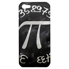 Pi Apple Iphone 5 Hardshell Case by Valentinaart