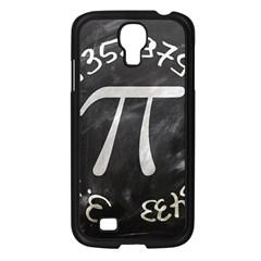 Pi Samsung Galaxy S4 I9500/ I9505 Case (black) by Valentinaart
