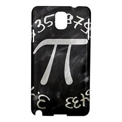 Pi Samsung Galaxy Note 3 N9005 Hardshell Case by Valentinaart