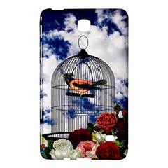 Vintage Bird In The Cage  Samsung Galaxy Tab 4 (8 ) Hardshell Case  by Valentinaart