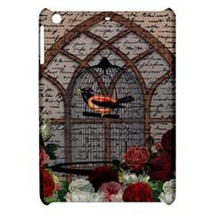 Vintage Bird In The Cage Apple Ipad Mini Hardshell Case by Valentinaart