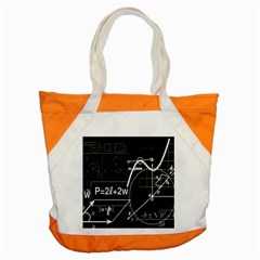 School Board  Accent Tote Bag by Valentinaart