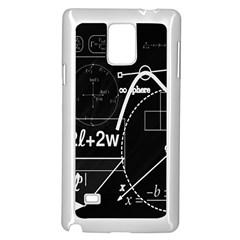 School Board  Samsung Galaxy Note 4 Case (white) by Valentinaart